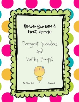 Weather Emergent Reader and Writing Promts