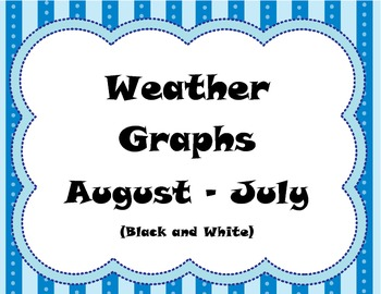 Weather Graphs B&W