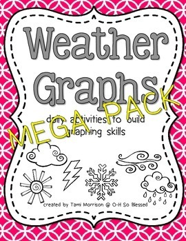 Weather Graphs [daily activity MEGA BUNDLE]