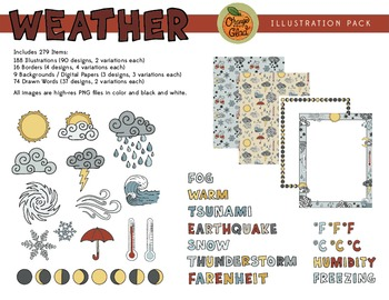 Weather Illustration Pack