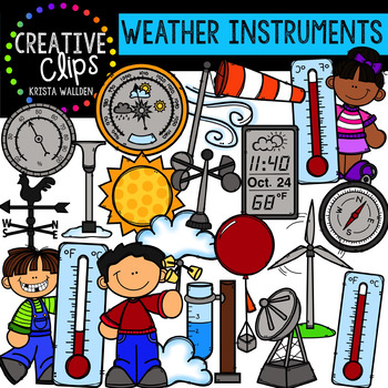 Weather Clipart: Instruments {Creative Clips Digital Clipart}