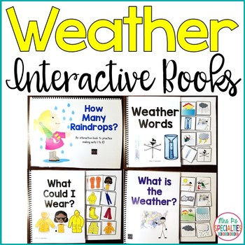 Weather Interactive Books