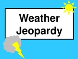 Weather Jeopardy Game