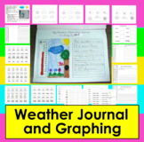 Weather Journal (Graphing Activity & Questions, too!)