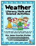 Weather Literacy. Math and Science Activities