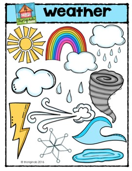 Weather  (P4 Clips Trioriginals Digital Clip Art)