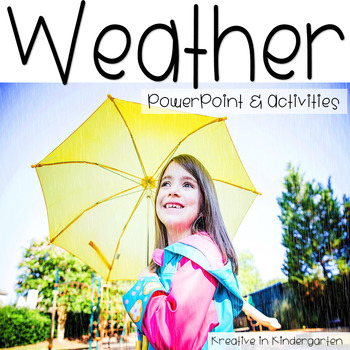 Weather Powerpoint and Activities