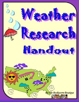 Weather Research Questions