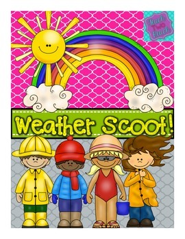 Weather SCOOT - 24 cards plus 6 blank- seasons, water cycl