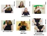 Weather & Seasons Sign Language (ASL) Vocabulary Cards