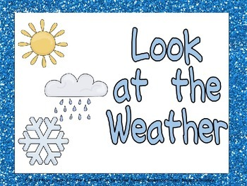 Weather Shared Reading PowerPoint Presentation for Kinderg