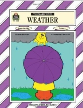 """""""Weather"""" Thematic Unit"""