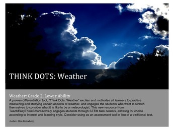 Weather Think Dots- Low Ability