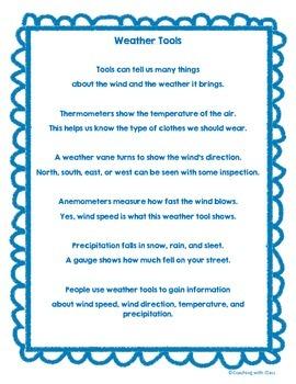 Weather Tools Poem
