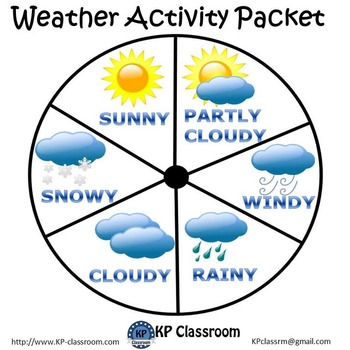 Weather Activity Packet Printable Worksheets