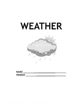 Weather Unit Packet/Work