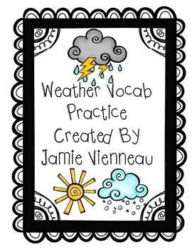 Weather Vocabulary Practice
