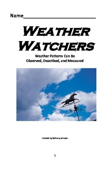 Weather Watchers Booklet