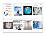 Weather Words Dictionary with Pictures