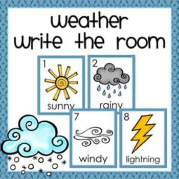 Weather Write the Room