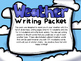 Weather Writing Packet