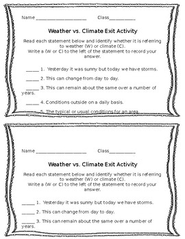 Weather and Climate Bundle