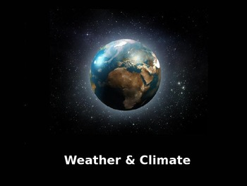 Weather and Climate PowerPoint
