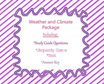 Weather and Climate grade 5