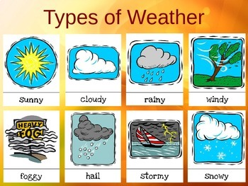 Weather and Four Seasons PowerPoint