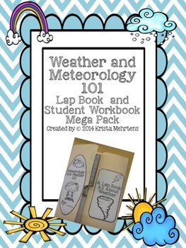 Weather and Meteorology 101 Lapbook and Student Workbook M