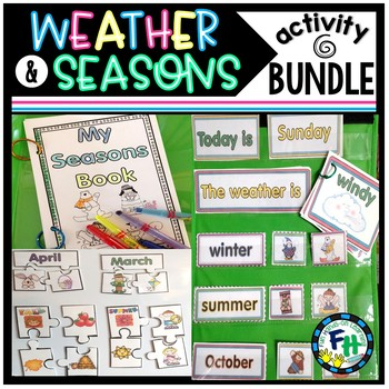 Weather and Seasons Activity Pack