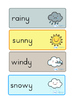 Weather and Seasons Day Calendar