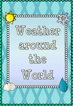 Weather around the world: a five lesson geography bundle!