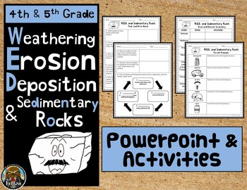 Weathering, Erosion, Deposition, Sedimentary Rocks PPT and