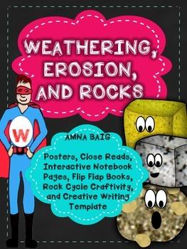 Weathering, Erosion, Rocks - passages, posters, flip flaps