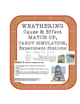 Weathering Experiments Stations, Definition Matching and C