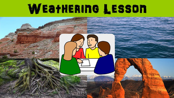 Weathering No Prep Lesson with Power Point, Worksheet, and