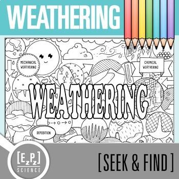 Weathering Seek & Find Doodle Page