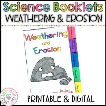 Weathering and Erosion Tabbed Booklet: Exploring Earth's C