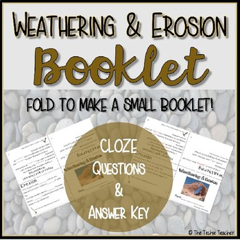 Weathering and Erosion Booklet