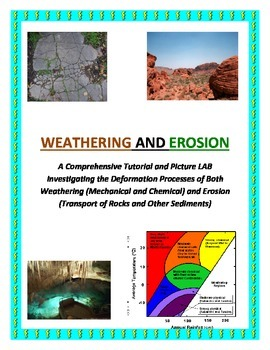 Weathering and Erosion Tutorial and LAB (DYNAMITE and COLORFUL!)
