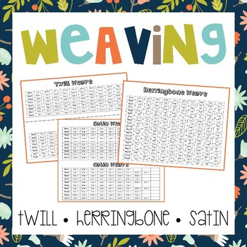 Weaving (Twill, Herringbone & Satin)