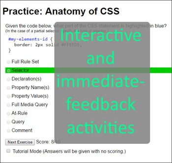 Web Design & Development -- Unit 3 Intro to CSS