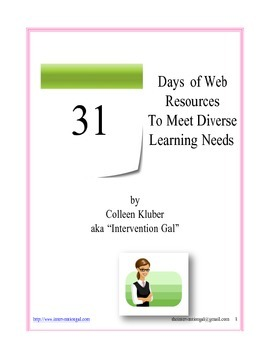 Web Resources for Unique Learners
