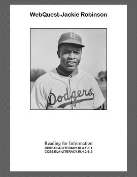 WebQuest: Jackie Robinson Grades 4-8