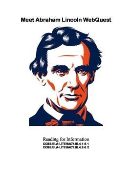 WebQuest: Meet Abraham Lincoln Grades 4-8