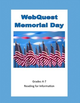 Memorial Day - Webquest
