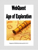 WebQuest - The Age Of Exploration Grades 4-8