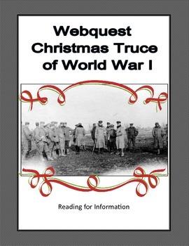 World War 1 - Christmas Truce - Webquest