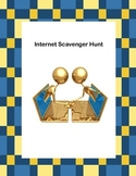 Webquest or Internet Scavenger Hunt  Grades 5-10